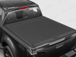 Isuzu D-Max 2020 Onwards Black Mountain Top Roll Black