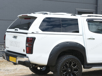 Alpha GSE Truck Top canopy fitted to an Isuzu Dmax double cab