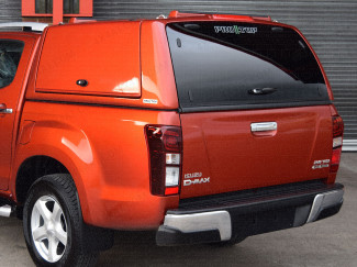 Isuzu D-Max Protop low roof gullwing truck top