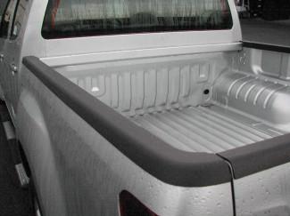 Isuzu D-Max 2012 on Double Cab Aeroklas Cargo Bed Caps