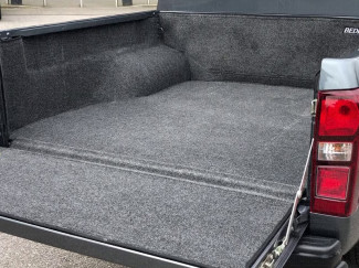 Bedrug liner fitted to an Isuzu D-Max double cab pickup