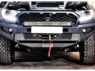Ranger 2019 Front Bar - Winch Recovery Bumper