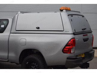 Mitsubishi L200 2015 Extra Cab Pro//Top Gullwing Solid Tailgate Door in U25 Silver
