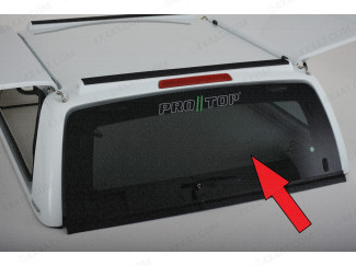Pro//Top Complete Heated Rear Door Glass with Central Locking - Isuzu D-Max 2021 On