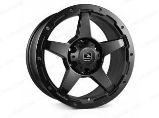 18 x 8 inch Eiger Matt Black Alloy Wheel  6-139 ET20 106CB