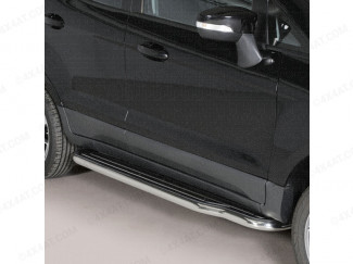 Ford EcoSport 2014 On Stainless Steel Side Steps