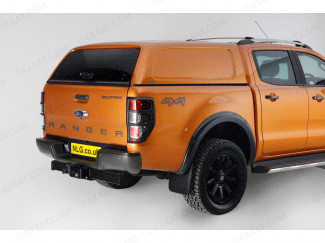 Aeroklas Commercial canopy Ford Ranger double cab