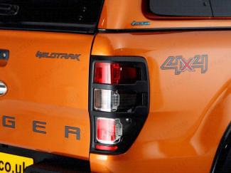 Ford Ranger 2012 On Black Tail Light Surround
