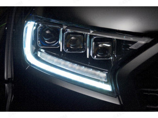 Ford Ranger 2016 On Predator Tri-Projector LED Headlights