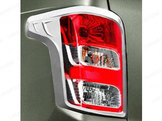 Fiat Fullback Chrome Rear Light Covers
