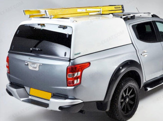 Pro//Top Tradesman Canopy With Glass Rear Door In W32 White For The Fiat Fullback
