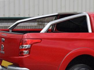 Stainless Steel Single Hoop Sports Bar For Fiat Fullback