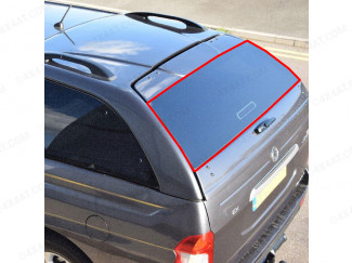 SsangYong Musso replacement tailgate glass