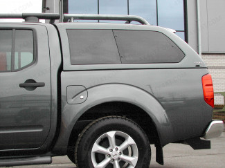 Nissan Navara D40 Double Cab Alpha Gse Hard Top With Side Windows Painted In Primer