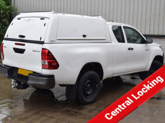 New Toyota Hilux Extra/Cab 2016 Onwards Pro//Top Canopy With Gullwing Side Access Doors