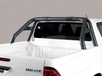 Toyota Hilux Invincible X black roll bar