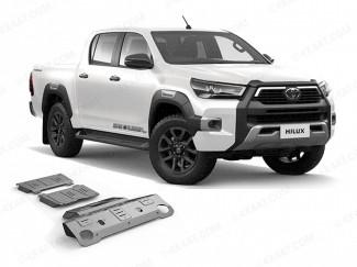 Toyota Hilux 21 Onwards Alloy Under Side Protection Kit