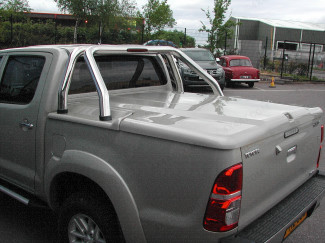 Toyota Hilux 3 piece load bed cover