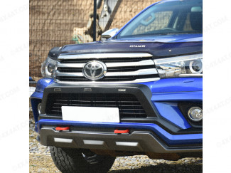 Toyota Hilux With Predator Bumper With DRL