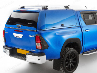 Alpha CMX gullwing canopy Toyota Hilux double cab
