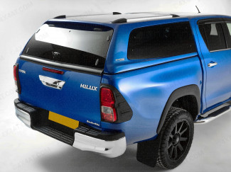 Toyota Hilux 2016 Onwards Double Cab Carryboy S6 Hard Trucktop Pop Out Windows