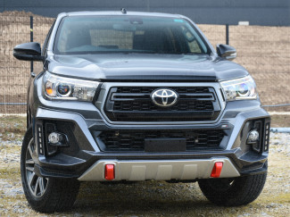 Toyota Hilux Invincible X 2018 on Front Bumper with Daylight Running Lights