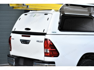 Toyota Hilux 2016 Onwards Pro//Top Canopy With Gullwing Side Access Doors