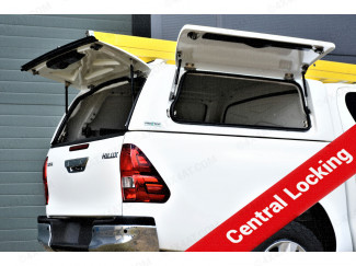 Toyota Hilux 2016 onwards Pro//Top Canopy Low Gullwing Side Doors with Central Locking