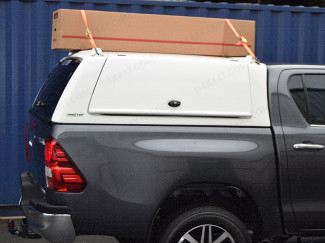 ProTop Low Roof Gullwing Truck Top on a Toyota Hilux