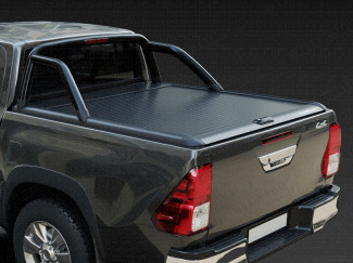 Hilux Mountain Top Roll - Black Roller Shutter