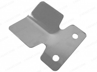Towing Bumper Protector Plate Stainless Steel