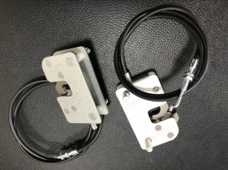 Mountain Top Complete Side Locks+Cables (Pair)