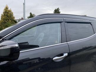 Hyundai Santa-Fe wind deflectors