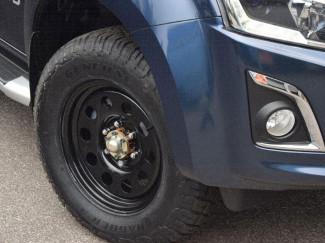 17 Inch Black Modular Steel Wheels for Isuzu D-Max