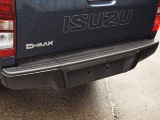 Isuzu D-Max Black Rear Bumper