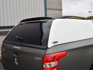 Mitsubishi L200 2015 Club-King Cab Carryboy 560 Commercial Truck Top Canopy In White Primer