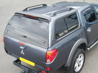 Mitsubishi L200 fitted with Carryboy Leisure Truck Top
