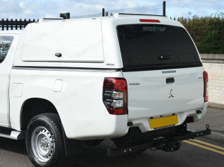 Mitsubishi L200 Club Cab 2015 Onwards Pro//Top Canopy With Gullwing Side Access Doors-1