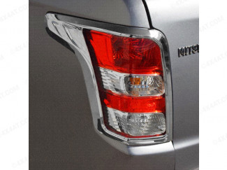 Rear lamp cover in a chrome finish for the Mitsubishi L200 2015 onwards