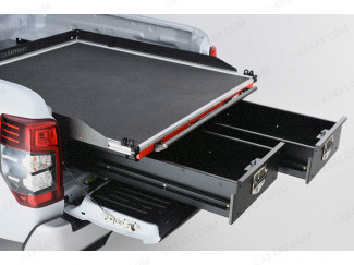 Mitsubishi L200 Series 6 Alloy Sliding Deck With Twin Drawer System