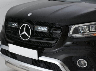 R-4 Lazer Lights Fitted To A Mercedes X-Class