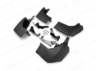 Landrover Discovery LR4 2010 To 2015 Shallow Angle Mud Flap 4pc Set