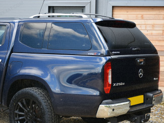 Alpha Type-E leisure hard top canopy fitted to Mercedes-Benz X-Class