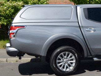 Aeroklas Commercial Canopy fitted to Mitsubishi L200