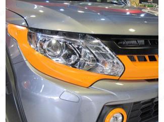 Fiat Fullback 2016 Onwards Head Light Garnish in Orange