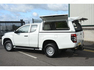 New Toyota Hilux Extra/Cab 2016 Onwards Pro//Top Canopy With Gullwing Side Access Doors-1