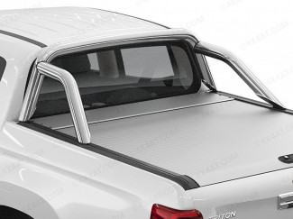 Mitsubishi L200 Extra Cab Mountain Top Sports Roll Bar - Stainless Steel