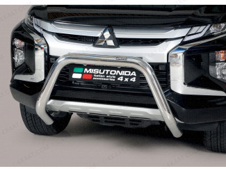 Mitsubishi L200 series 6 Front A Bar Stainless Steel