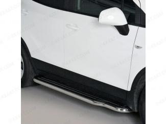 Mitsutonida Stainless Steel Side Steps For 2012 Onwards Vauxhall Mokka