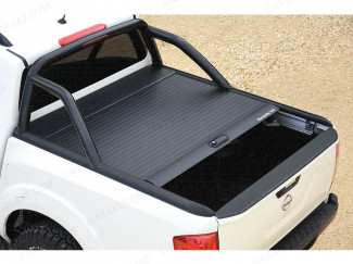 Nissan Navara NP300 Mountain Top Roll Top - Roller Shutter – Black